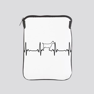 Goat Heartbeat of Love iPad Sleeve
