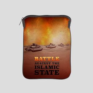 Battle Against The Islamic State iPad Sleeve