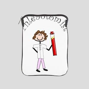 Phlebotomist Stick Lady New iPad Sleeve