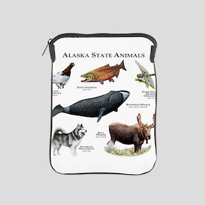 Alaska State Animals iPad Sleeve
