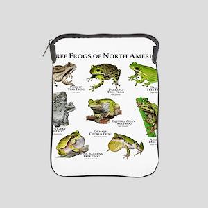 Tree Frogs of North America iPad Sleeve