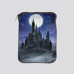 gothic castle reworked iPad Sleeve