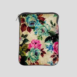 Floral Antique iPad Sleeve