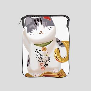 Lucky Cat iPad Sleeve