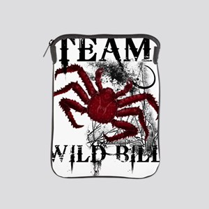 2-wild_bill_front_blk iPad Sleeve