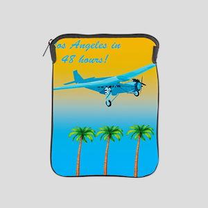 Air Travel Vintage Style iPad Sleeve