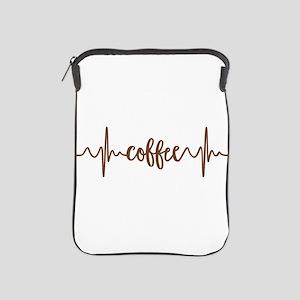 COFFEE HEARTBEAT iPad Sleeve