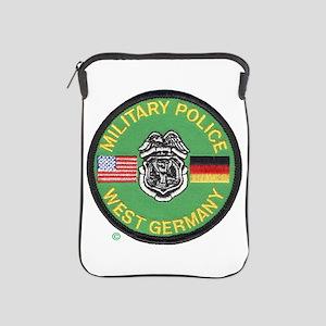 U S Military Police West Germany iPad Sleeve