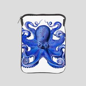 Blue Octopus iPad Sleeve