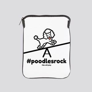 Poodles Rock iPad Sleeve