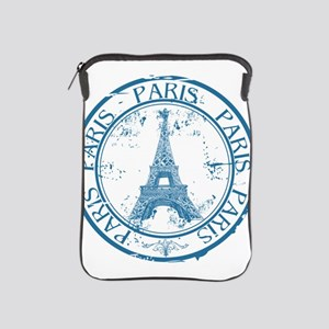 Paris travel stamp iPad Sleeve