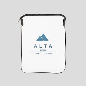 Alta Ski Resort Utah iPad Sleeve