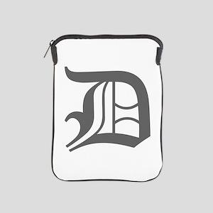 D-oet gray iPad Sleeve