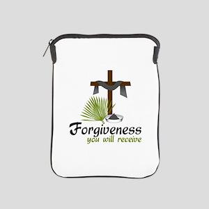 Forgiveness You Will Receive iPad Sleeve