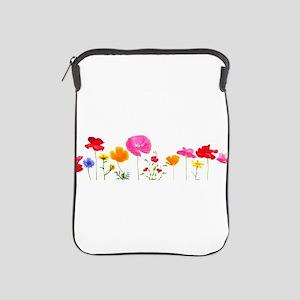 wild meadow flowers iPad Sleeve