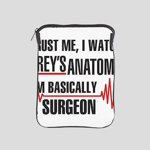Greys Anatomy Trust me iPad Sleeve