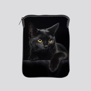 Black Cat iPad Sleeve