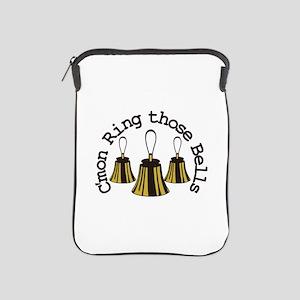 Cmon Ring Those Bells iPad Sleeve