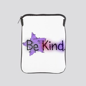 Be Kind with Colorful Text and Purple Star iPad Sl