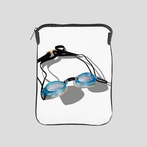 SwimmingGoggles091210 iPad Sleeve