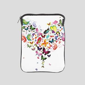 Heart of Butterflies iPad Sleeve