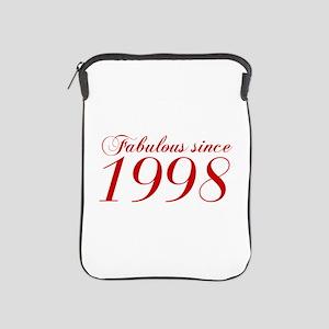Fabulous since 1998-Cho Bod red2 300 iPad Sleeve