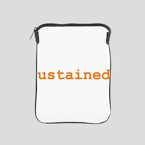 Sustained iPad Sleeve