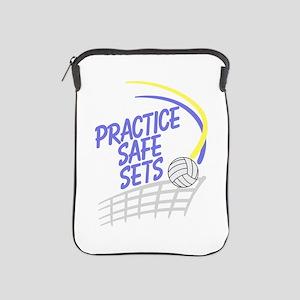 Practice Safe Sets iPad Sleeve