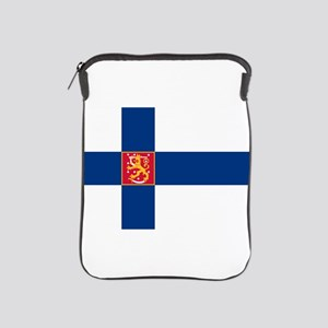 State Flag of Finland iPad Sleeve