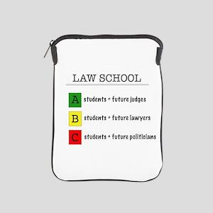 law student futures iPad Sleeve