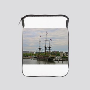 Old sailing ship, Amsterdam, Holland iPad Sleeve