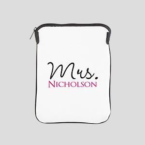 Customizable Name Mrs iPad Sleeve