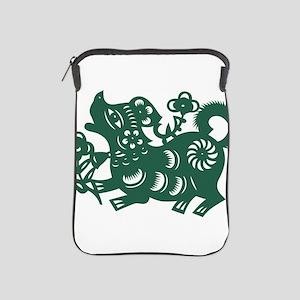 Dog Chinese East Asian Astrology Zodia iPad Sleeve