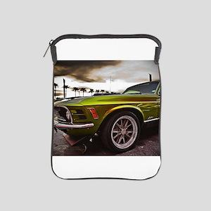 70 Mustang Mach 1 iPad Sleeve