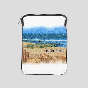 Jersey Shore NJ Beach iPad Sleeve