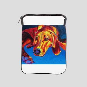 Redbone Coonhound iPad Sleeve
