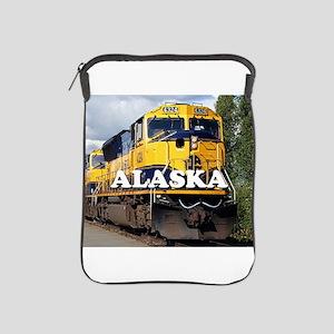 Alaska Railroad engine locomotive 2 iPad Sleeve