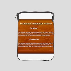 Socialism, Communism Defined iPad Sleeve