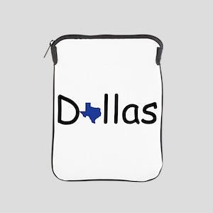 Dallas Texas iPad Sleeve