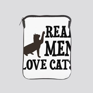 Real Men Love Cats iPad Sleeve