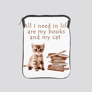 Cats and books iPad Sleeve