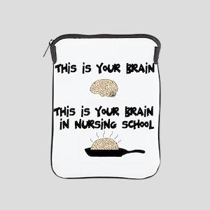 Fried Nursing Student Brain iPad Sleeve