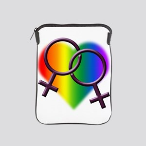 Rainbow Love Gay Pride iPad Sleeve