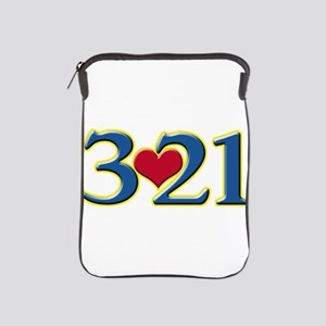321 Down Syndrome Awareness Day iPad Sleeve