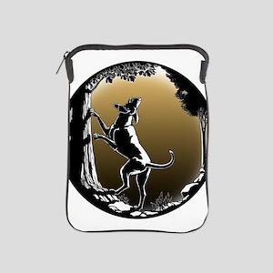 Hound Dog Art Hunting Dog iPad Sleeve