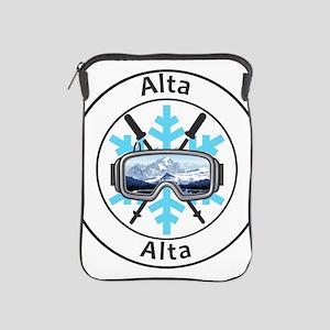 Alta - Alta - Utah iPad Sleeve