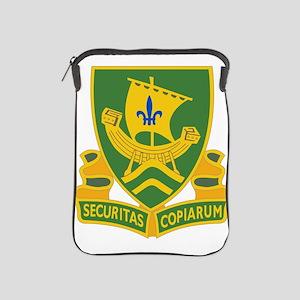 709th Military Police Battalion DUI.pn iPad Sleeve