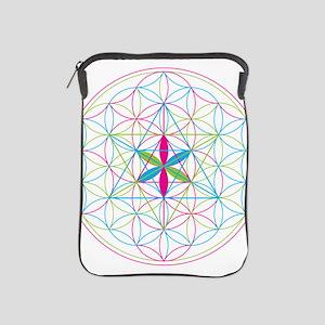 Flower of life Metatron Merkaba iPad Sleeve