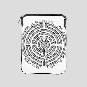 Celtic Labyrinth Mandala iPad Sleeve