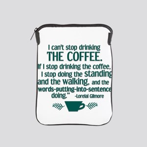 Can't Stop Coffee iPad Sleeve